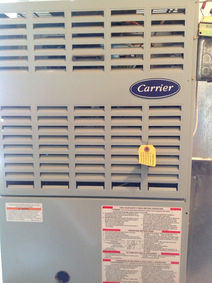 Fountain, CO - 80% carrier furnace won't turn on