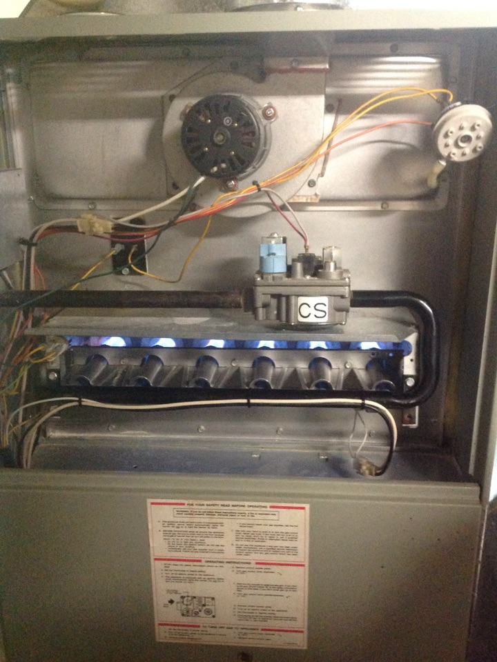 Manitou Springs, CO - Furnace service on trane furnace