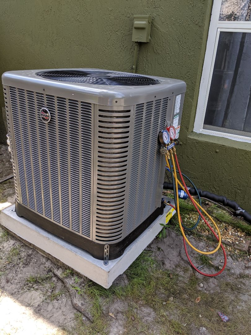 Jacksonville, FL - Installed new 14 seer ruud