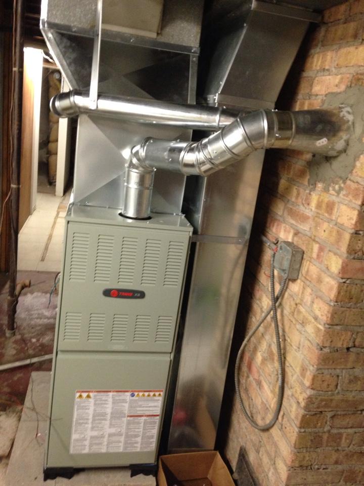 Burr Ridge, IL - New ac, furnace