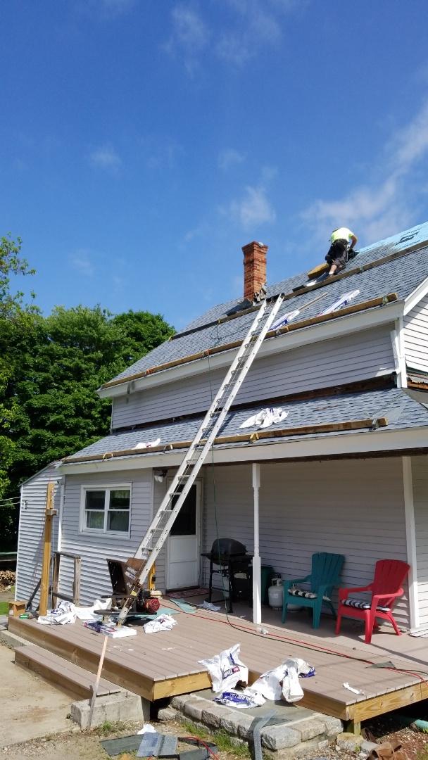 Installing a GAF roofing system
