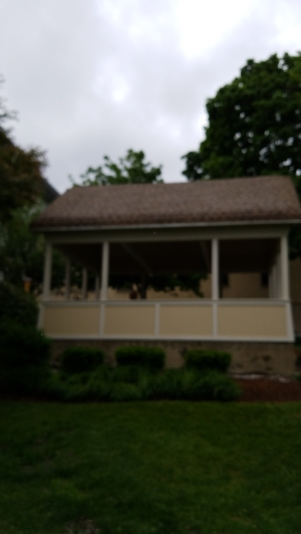 Revitalization of a classic gazebo with a new GAF roof on it.
