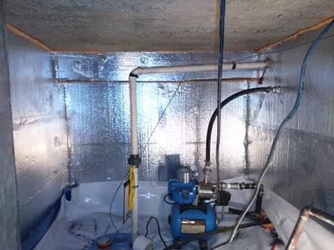 Morgantown, WV - Basement  insulation in sunny Morgantown WV