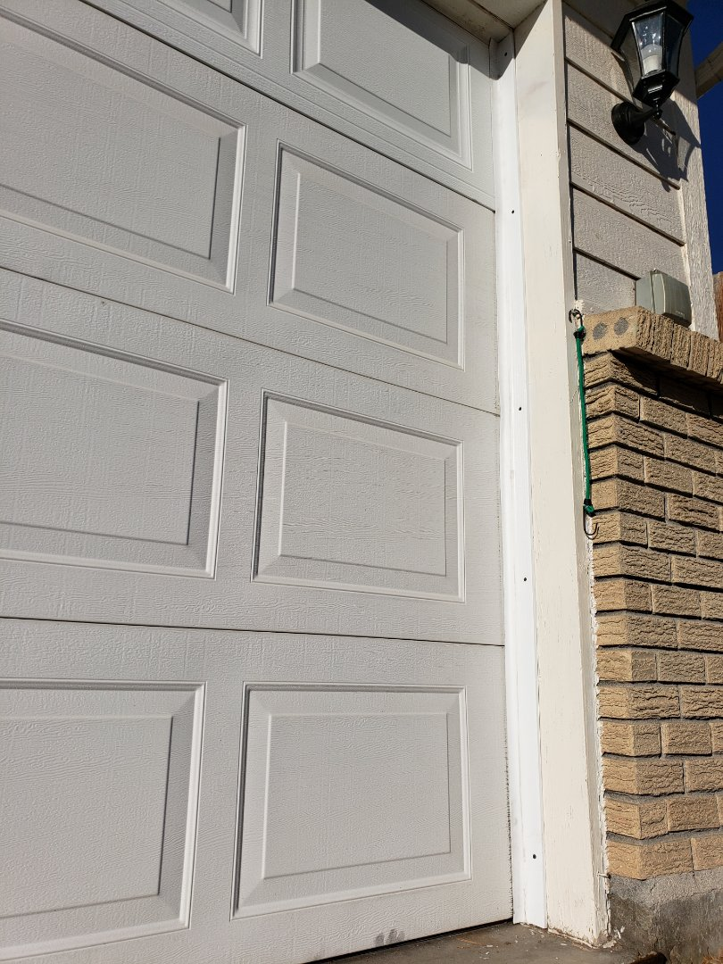 Brighton, CO - Replacement Top Section & perimeter side seal to correct  damaged / missing seal around Garage Door opening.