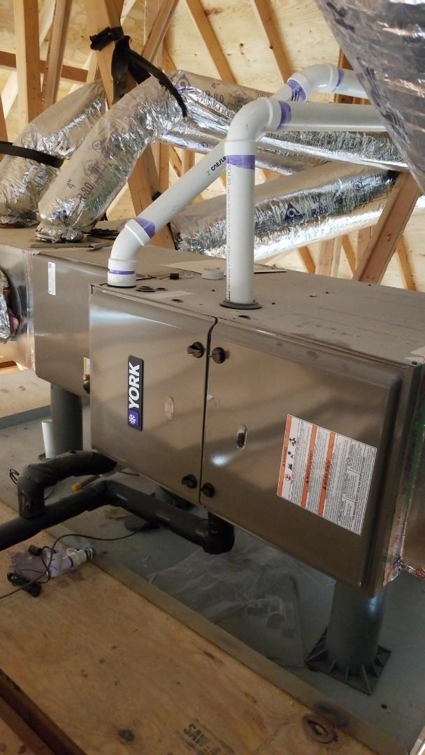 Nichols Hills, OK - Installing York  High efficiency systems