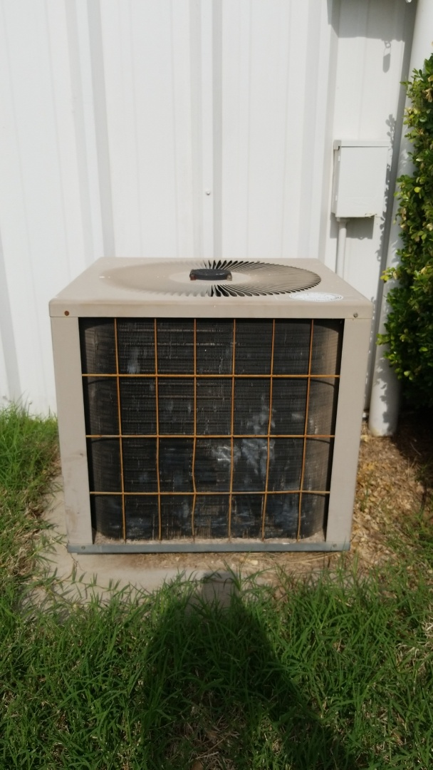 Newcastle, OK - Replacing an old Air Conditioner with a new York 14 Seer A/C