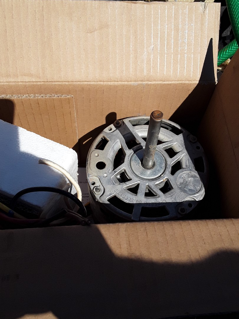 Edmond, OK - Installed indoor fan motor