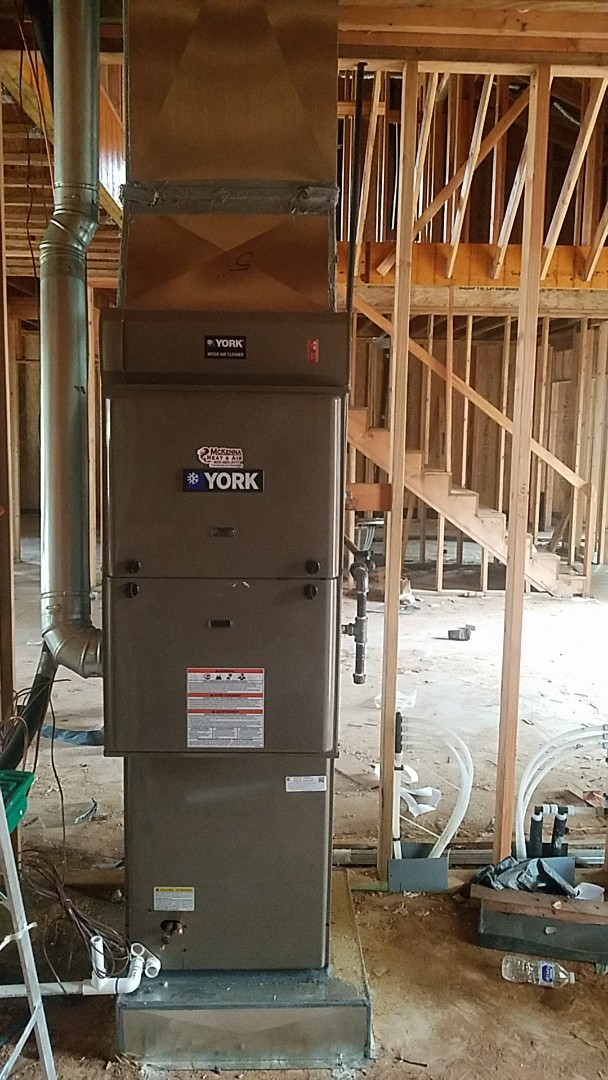 Nichols Hills, OK - ac dwelling installing downflow furnace and coil
