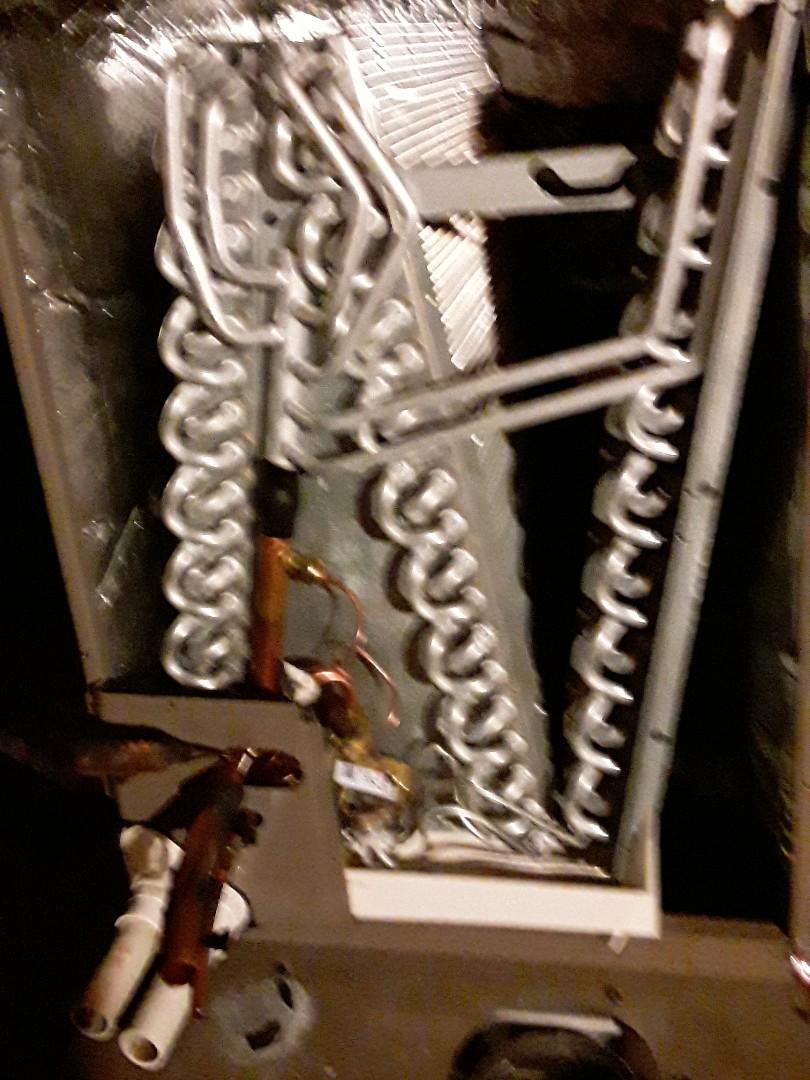 Edmond, OK - Evaporator coil changeout