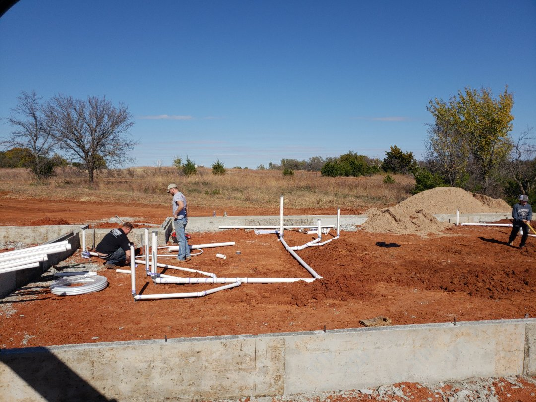 Chickasha, OK - Plumbing ground job