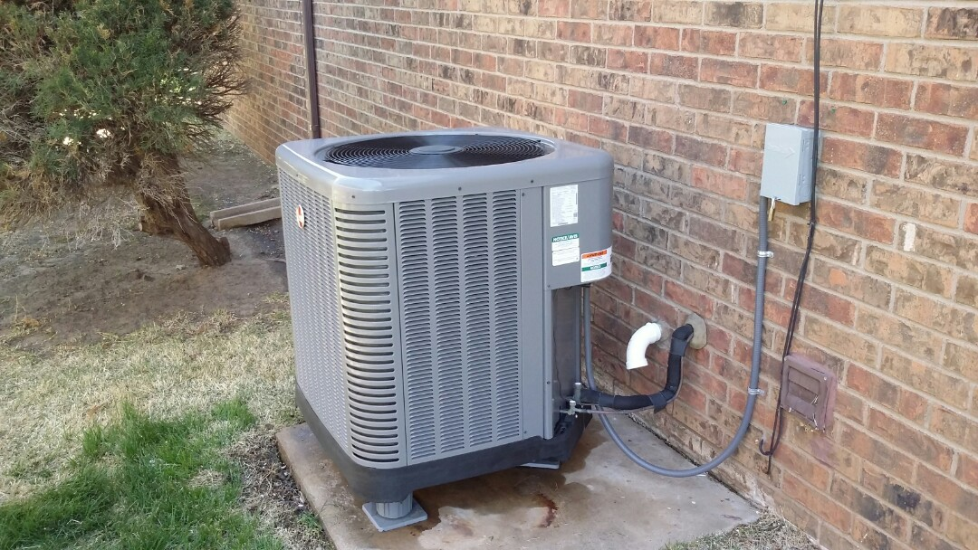 Wichita, KS - Performed air conditioner service