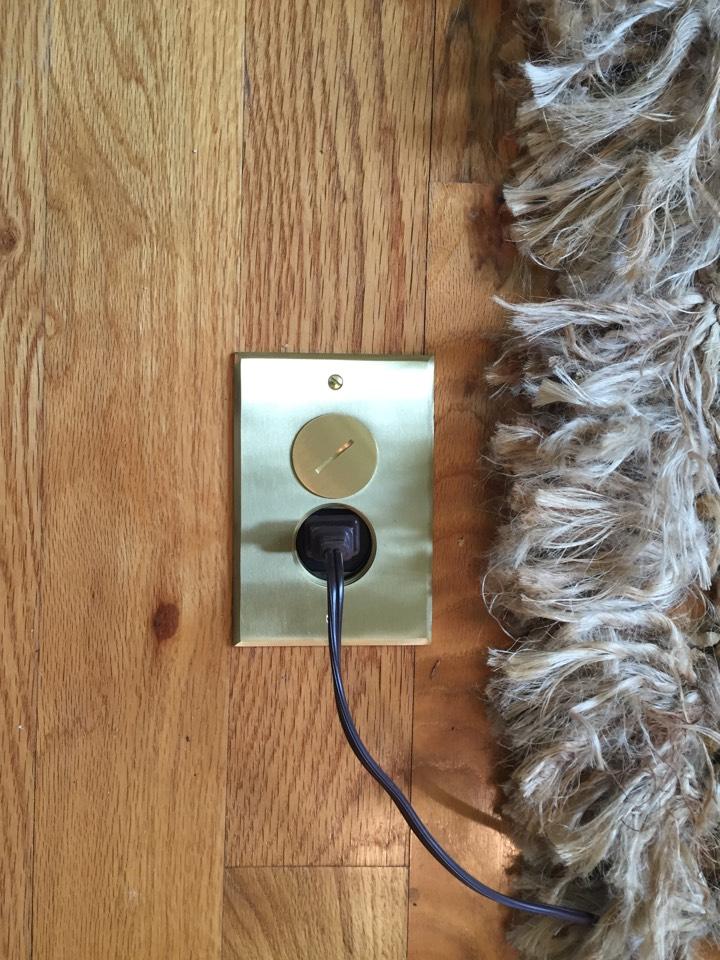 Statham, GA - Installed floor receptacles
