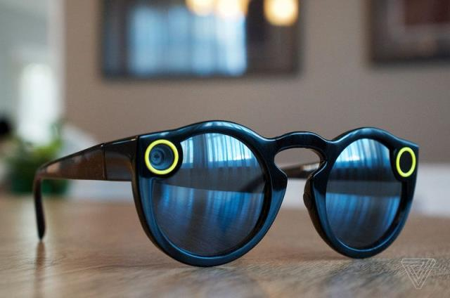 Brooklyn, NY - WHOA! Check out these new Snapchat Spectacles! Can't wait to try these out!
