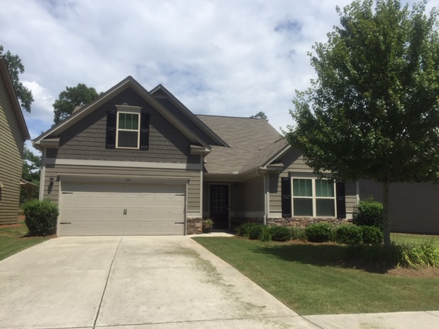 Woodstock, GA - Just completed a beautiful Exterior Painting project