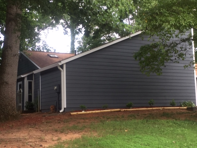 Roswell, GA - A completed James Hardie Siding project
