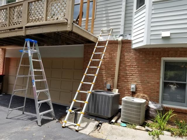 Atlanta, GA - Working on a Siding Replacement and Deck Replacement project