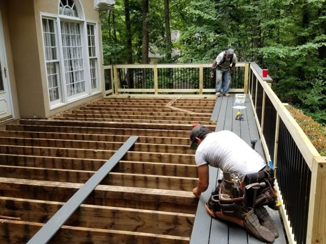 Roswell, GA - Checking in on a new Composite Deck project