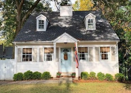 Atlanta, GA - Estimating a new project for the homeowners.  They are interested in Replacing all the Siding with James Hardie, installing all new vinyl replacement windows, new door replacement, and a new back deck.