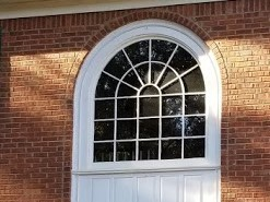 Roswell, GA - We are meeting with a past client to discuss replacement of their front Palladian Window and Sidelites of their home.  We love hearing from our past clients and working with them again.