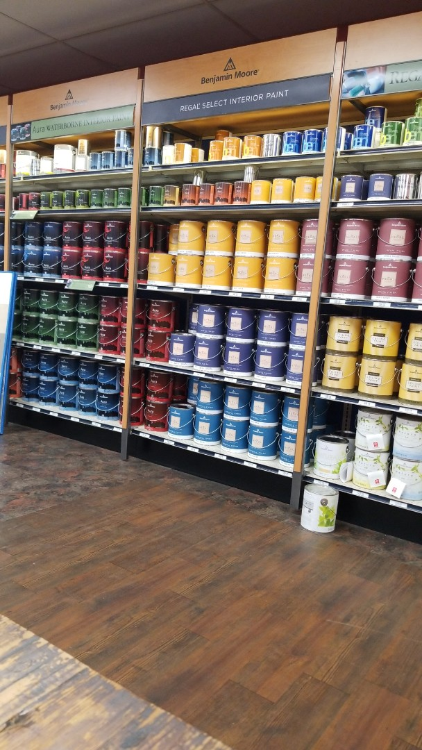 Solving local online marketing with local paint store.