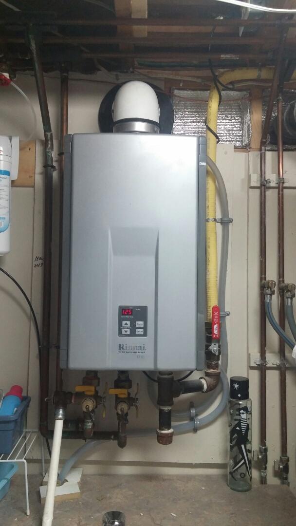 Niagara Falls, ON - Tankless water heater repair. Rinnai instantaneous error e10 repair.