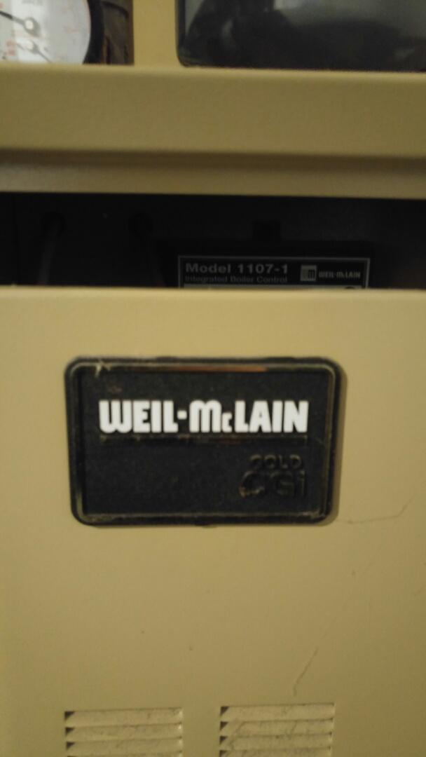 Niagara Falls, ON - Boiler service call. Performed repair on Weil-Mclain boiler