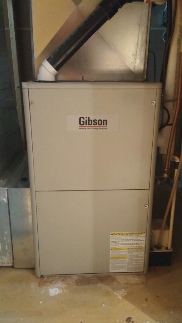 Niagara Falls, ON - Furnace repair. Replace Gibson furnace pressure switch.