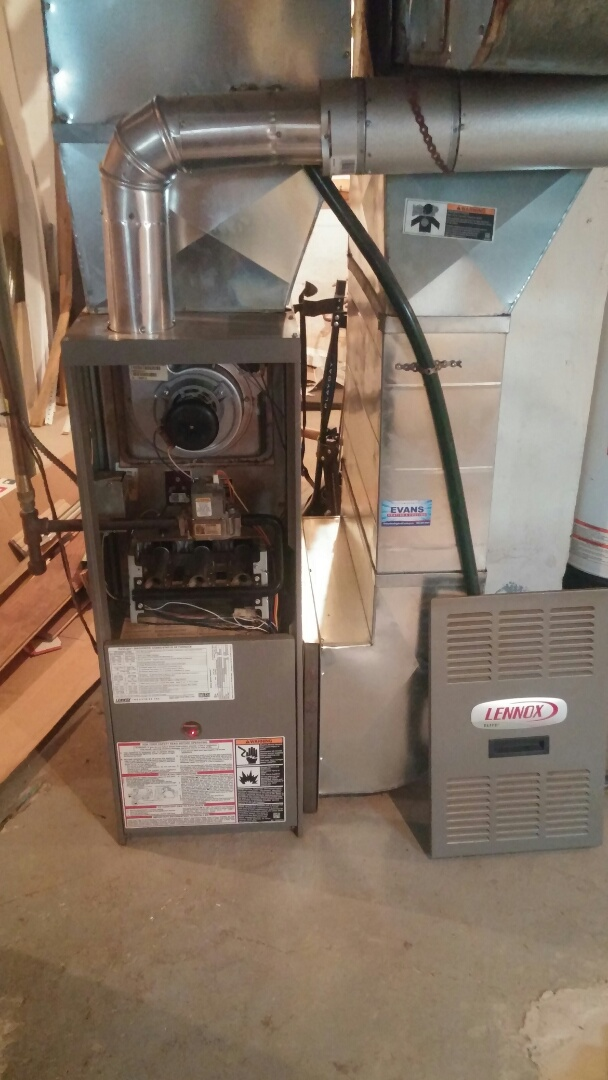 St. Catharines, ON - Lennox furnace and a/c maintenance and inspection.