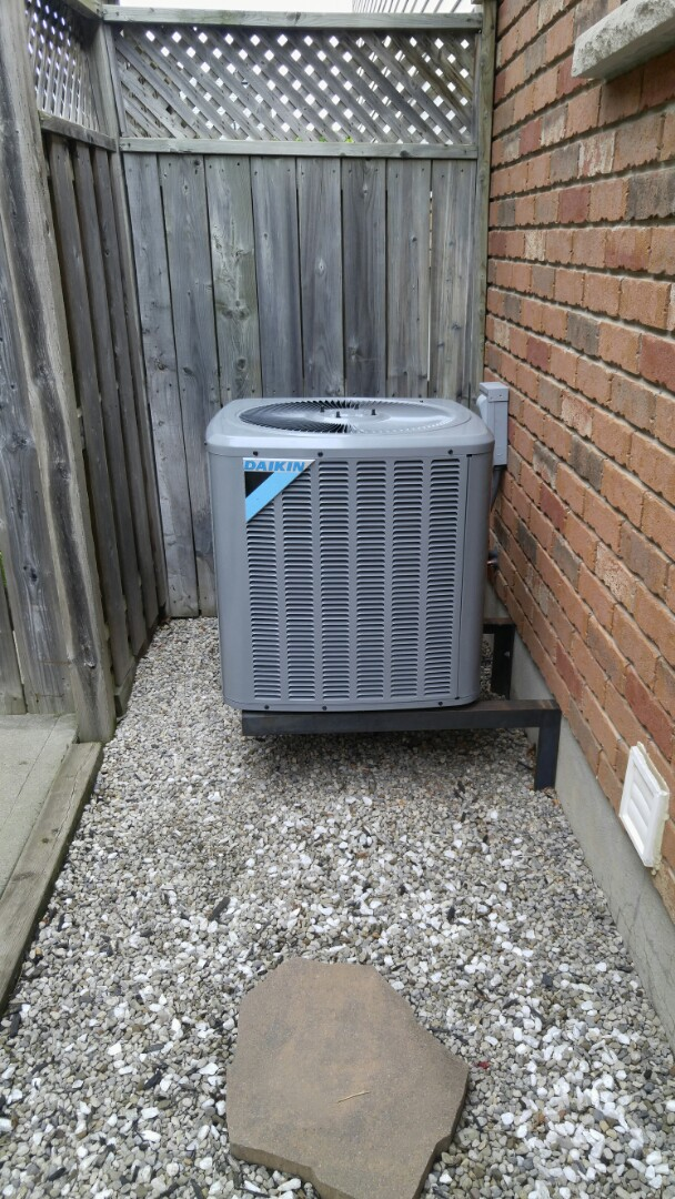 St. Catharines, ON -  Install Daikin air conditioner.