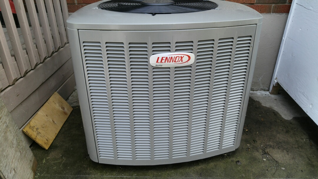 St. Catharines, ON -  Lennox furnace and air conditioner maintenance.
