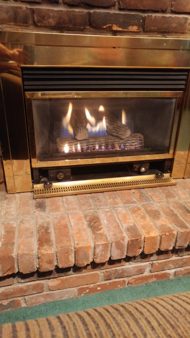 Fort Erie, ON - Maintenance and inspection of Lennox furnace and Insta-flame fireplace.