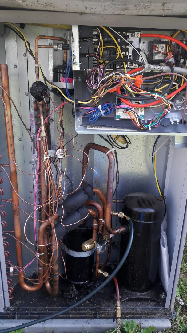 We found a bad TXV here in the Montevallo area.  If you are having troubles with your AC, give us a call.