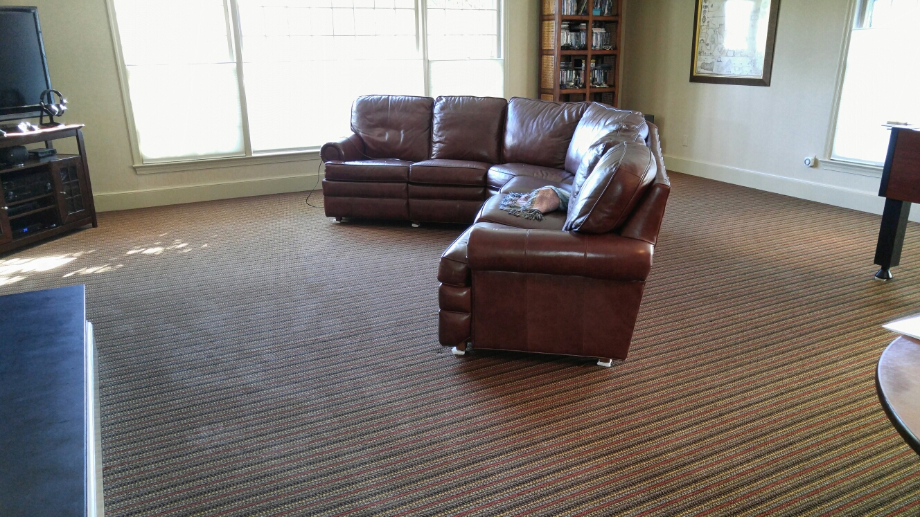 McLean, VA - Carpet cleaning in Family Room