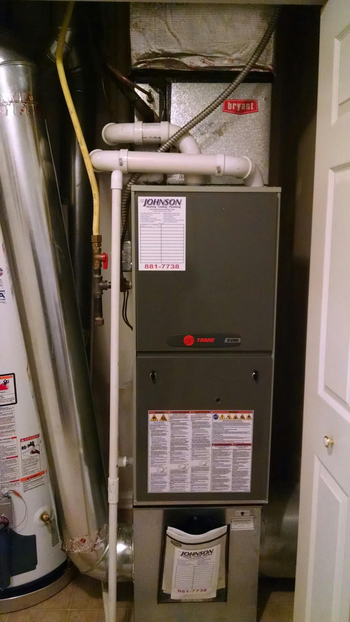 Franklin, IN - New Furnace installation