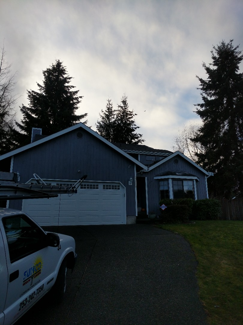 Kent, WA - Another roof cleaning done and done!?????