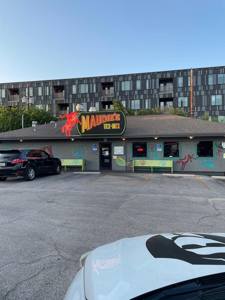 Austin, TX - Best part about coming to austin, enchiladas perfectos! Maudies! Travis county dwi!