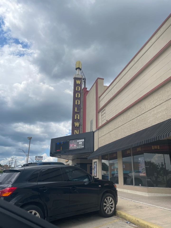 San Antonio, TX - Was out meeting a DWI client and stopped by the Woodlawn theatre for old time sake. #sanantonio