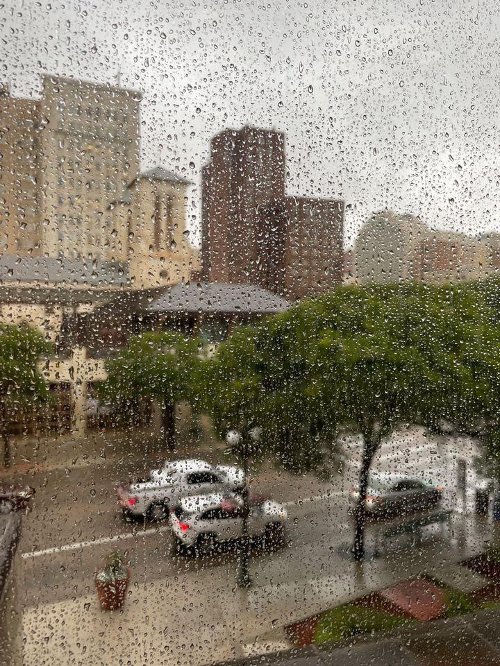 San Antonio, TX - It's a rainy day but that won't stop us being ready for trial! Aggravated assault with a deadly weapon case.