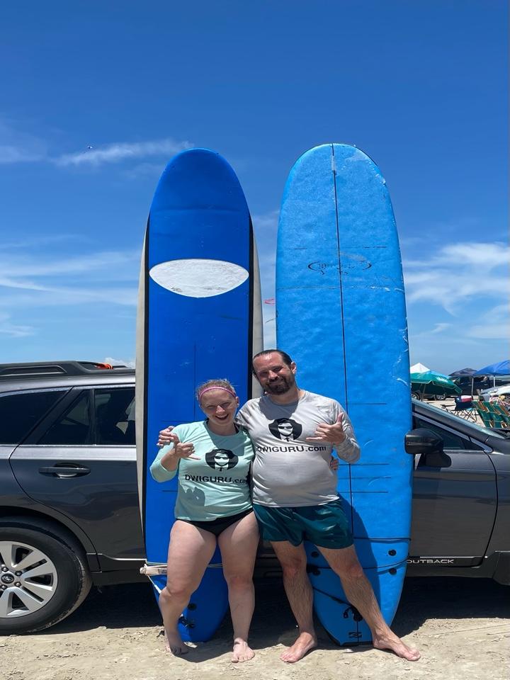 Port Aransas, TX - Sometimes you gotta take a break and just go surfing. Beach life. Dwi guru.
