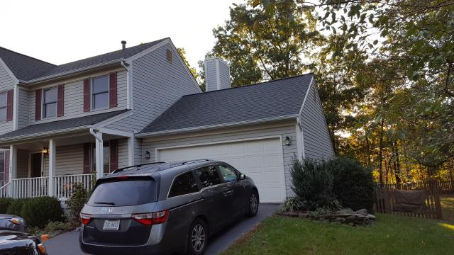 Ashburn, VA - We were referred to Mario and Tricia. They are looking to add a large addition to their house which includes a garage, master bedroom, master bathroom, guest bathroom, laundry room, and an office. It's a very cool project.