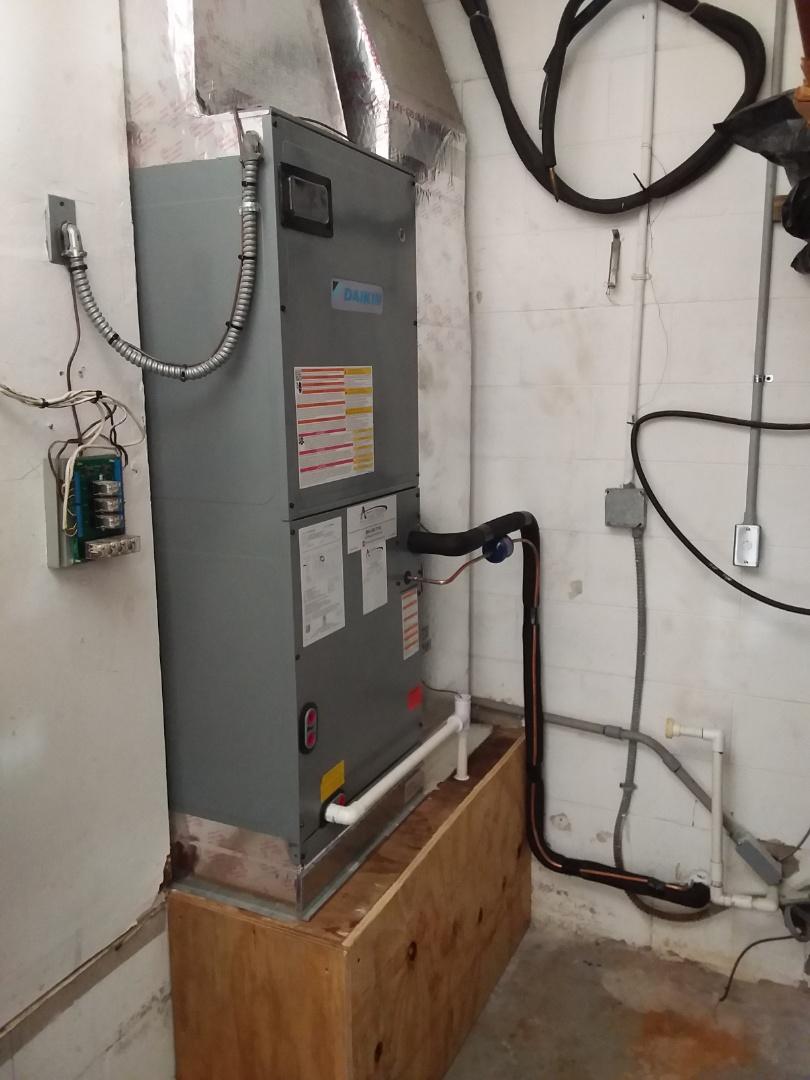 Flagler Beach, FL - Heat pump install. flagler beach