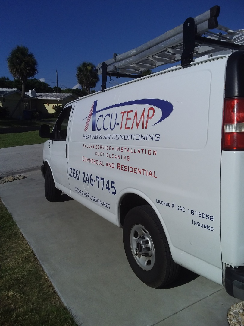 Palm Coast, FL - Install metal duct cover. Plantation Oaks. Flagler beach