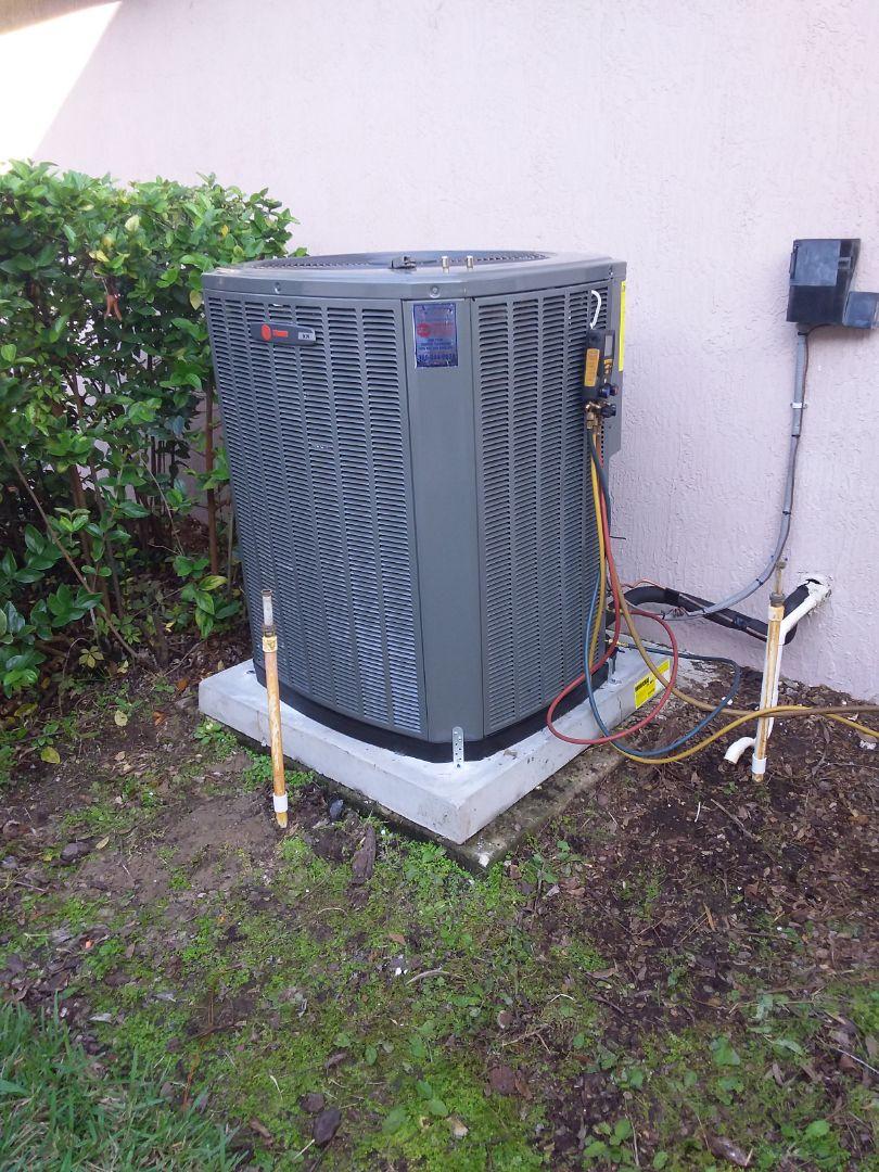Palm Coast, FL - Heat pump install palm coast