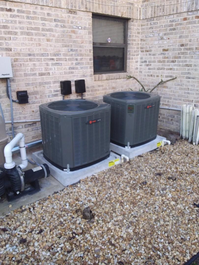 Palm Coast, FL - 2 ton Trane install. 2 systems.