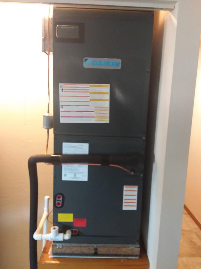 Palm Coast, FL - 3 ton 16 SEER Daikin heat pump