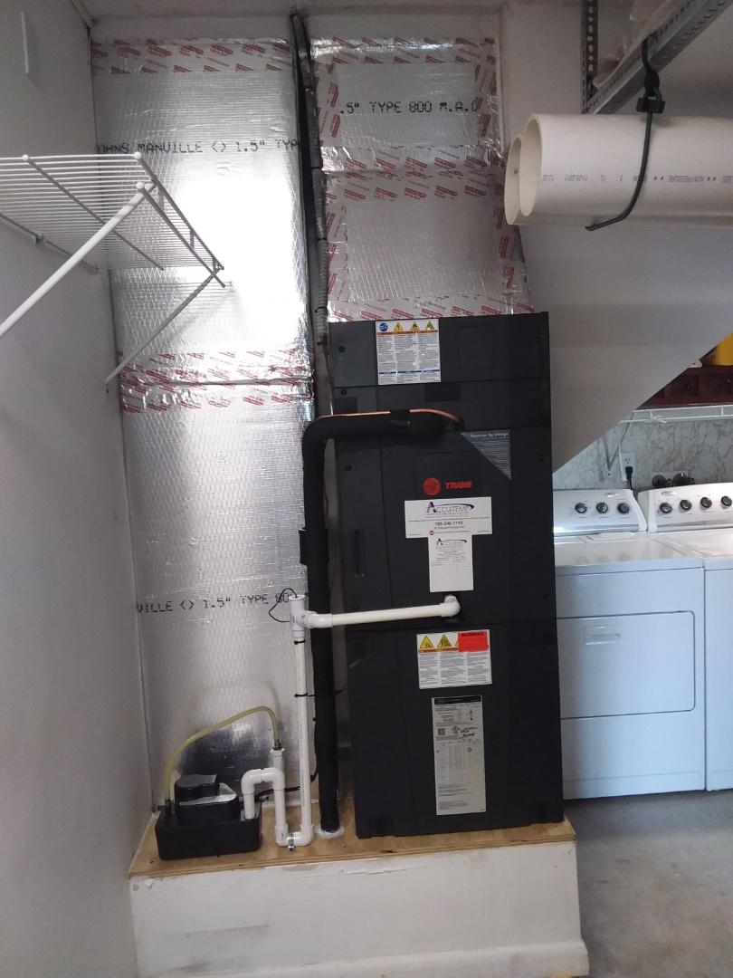 3 ton heat pump trane