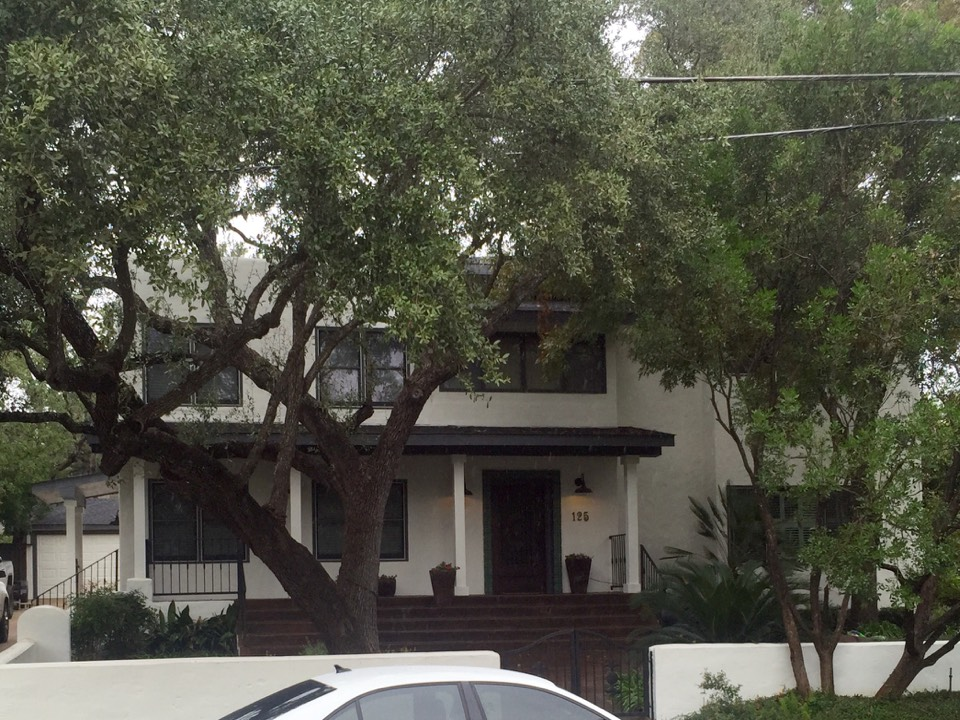 San Antonio, TX - Roof replacement on this stunning two story Alamo Heights home.