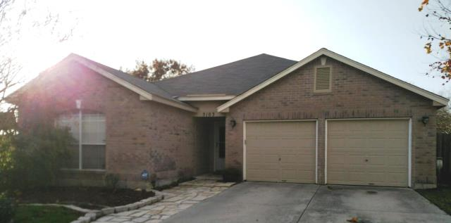 San Antonio, TX - Roof replacement done with O.C. Driftwood shingles on this single story San Antonio home.