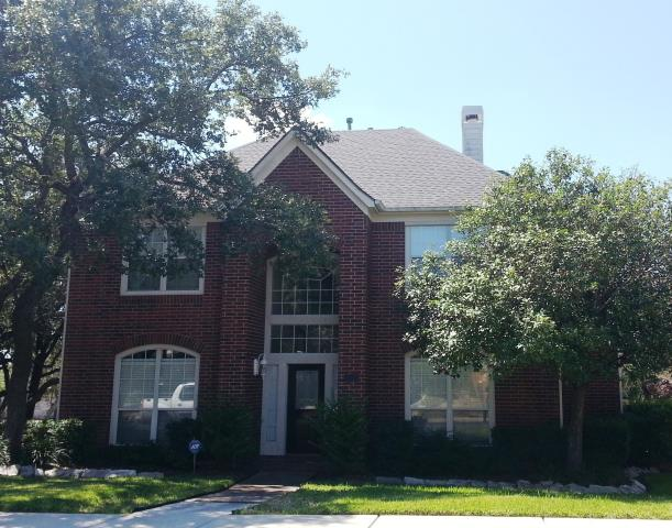 San Antonio, TX - Roof replacement on this beautiful 2-story home.