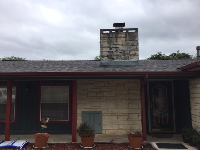 San Antonio, TX - New roof just put on this lovely home off Bandera in the San Antonio area. Please call the roofing specialists of Integrity Roofing & Siding for your FREE ESTIMATE today!